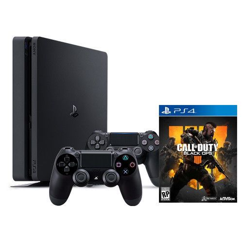 426668d68a303 PlayStation 4 Slim 1TB Console + Call of Duty Black Ops 4 + Extra PS4  Controller  VideoGames  Gaming  Gamers