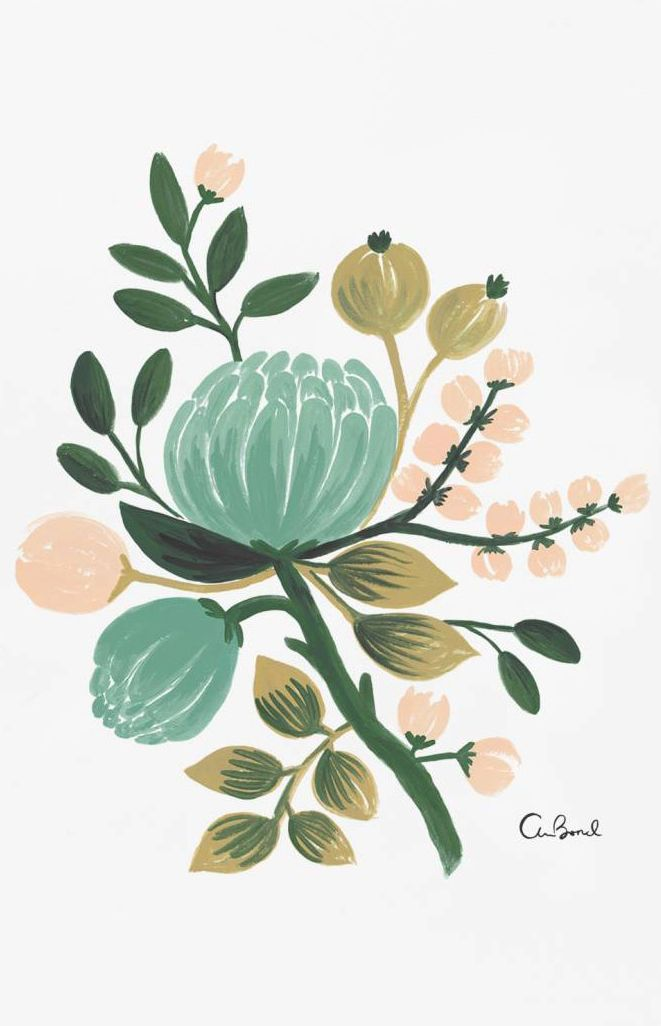Blue botanicals//