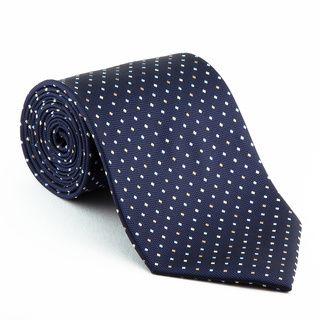 Platinum Ties Men S Patterned Blue Diplomat Tie 7 12