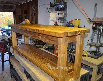 Swell 2X4 Storage Bench Garage Wood Storage Ideas Storage Pabps2019 Chair Design Images Pabps2019Com
