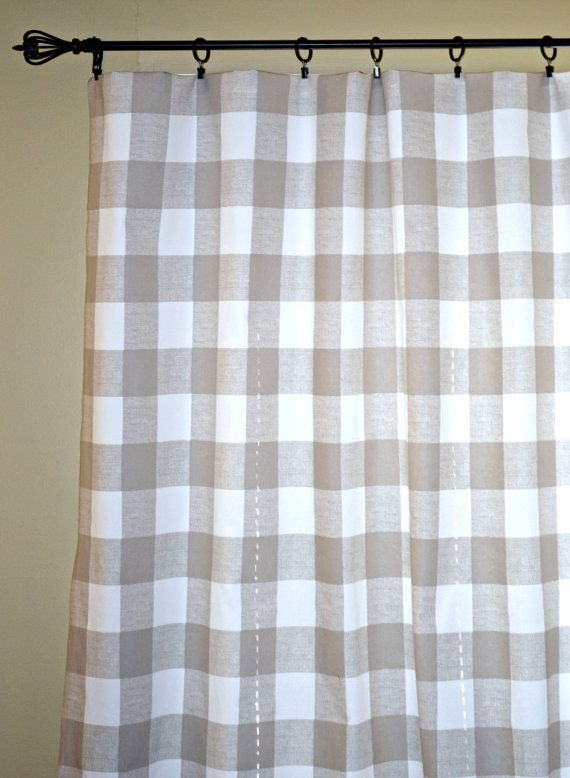 Hey I Found This Really Awesome Etsy Listing At 230068893 Buffalo Check Curtain Panels Anderson
