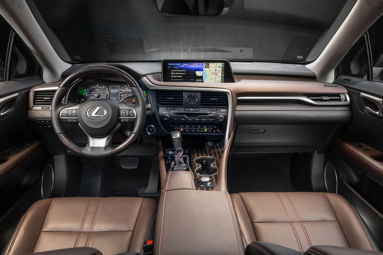 The Lexus Rx Interior Remains Elegant Prestigious And Luxurious