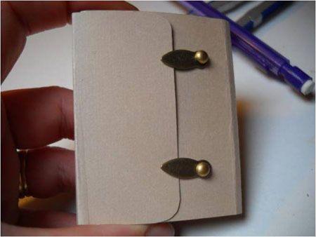 Décoration du0027intérieur objets personnalisés  Tuto Mini album porte - decoration portes d interieur