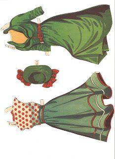 Miss Missy Paper Dolls: Ester Williams 1950