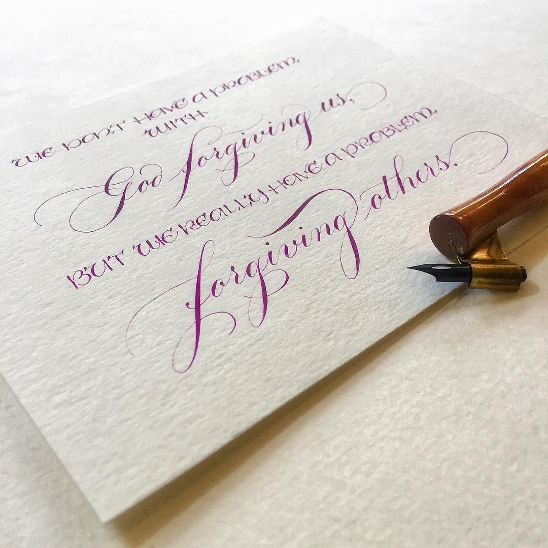 My Toes Are Feeling A Little Stepped On Calligraphy