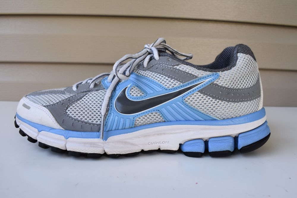 7c4040729ad80 Nike Pegasus 27 Fitsole 2 Zoom Air Women Sneaker Shoes Blue White Gray Sz  8.5  Nike  RunningShoes