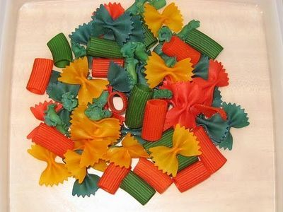 How To Dye Pasta For Crafts Pasta Crafts Preschool Arts Crafts