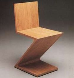 The Reitveld Zig Zag Chair
