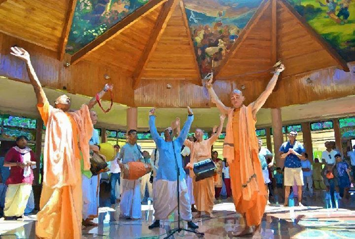 New Varshana Sunday Festival (Album 34 photos) Srila Prabhupada: Although the Goddess of Fortune is very restless and does not like to stay in one place for very long time, she is always finding new...