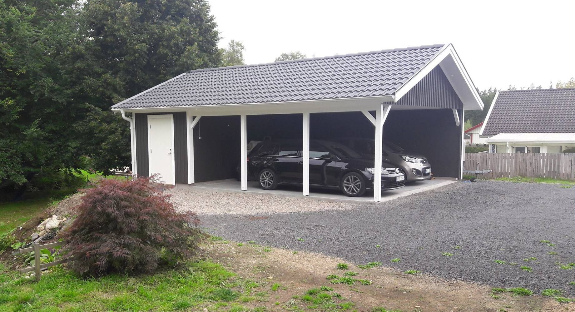 Bildresultat för carport med förråd Carport