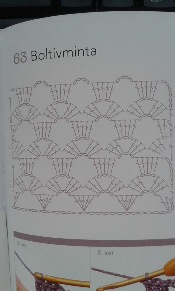 Pin de Leticia Rodríguez en puntadas de crochet | Pinterest ...