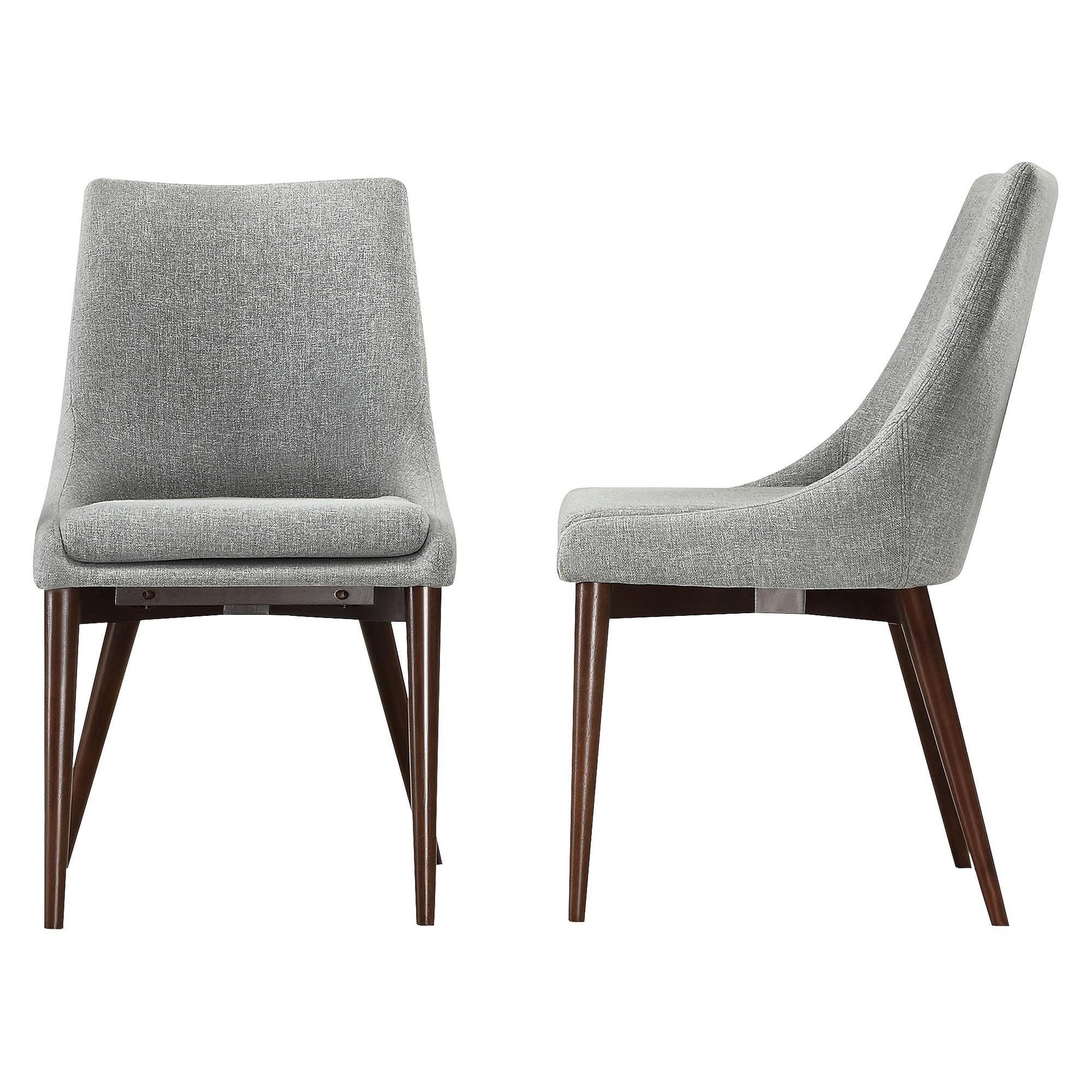 Target Dining Room Furniture: Sullivan Mid Century Dining Chair Wood/Gray (Set Of 2