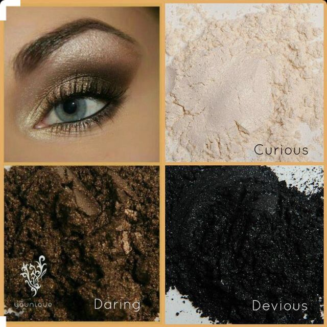 I love our mineral pigment powder! We have 34 to choose from!  #eyes #model #makeup www.youniqueproducts.com/DanaSchroder
