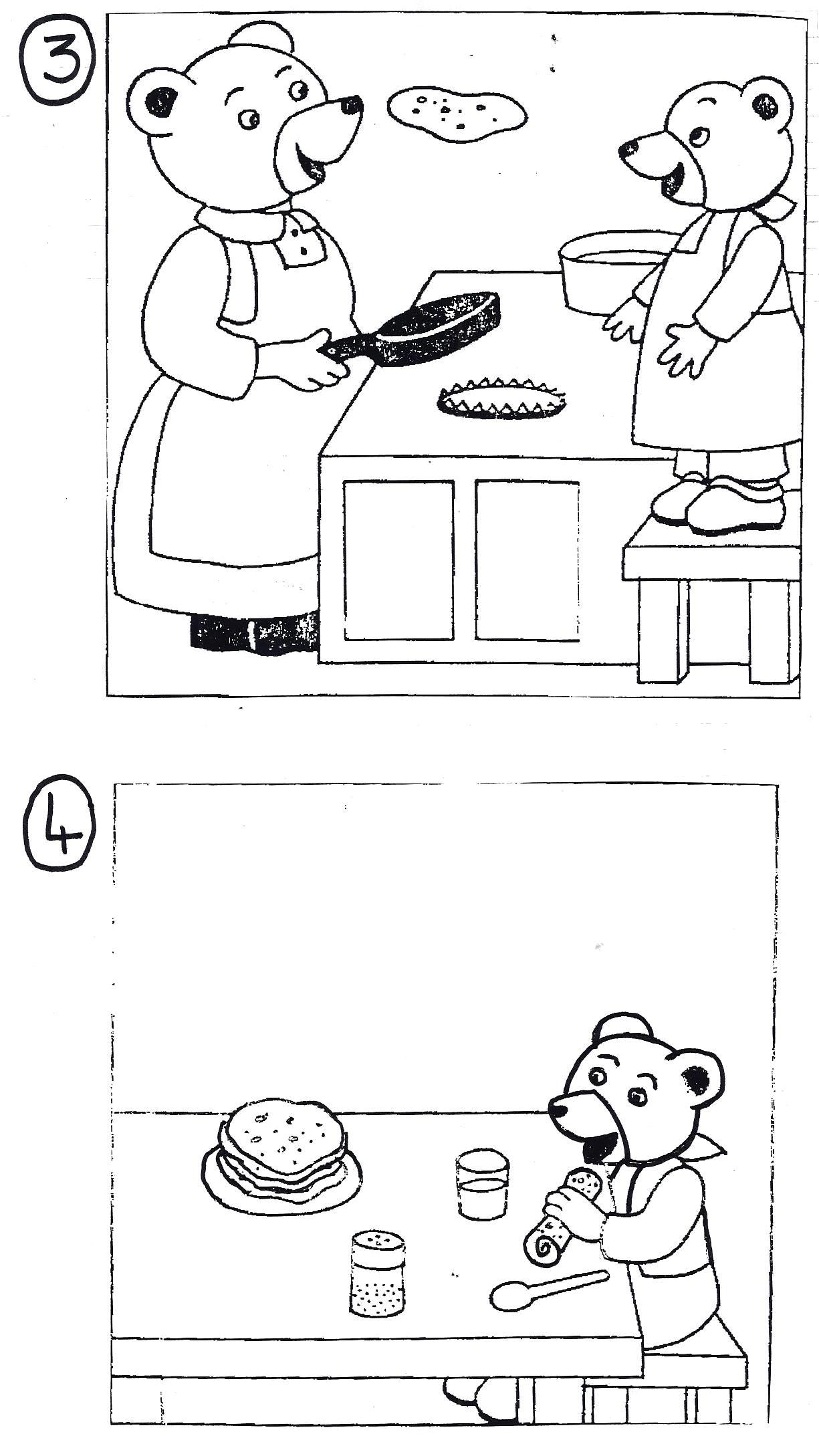 images squentielles petit ours brun fait des crpes 4 images - Petit Ours Brun Telecharger