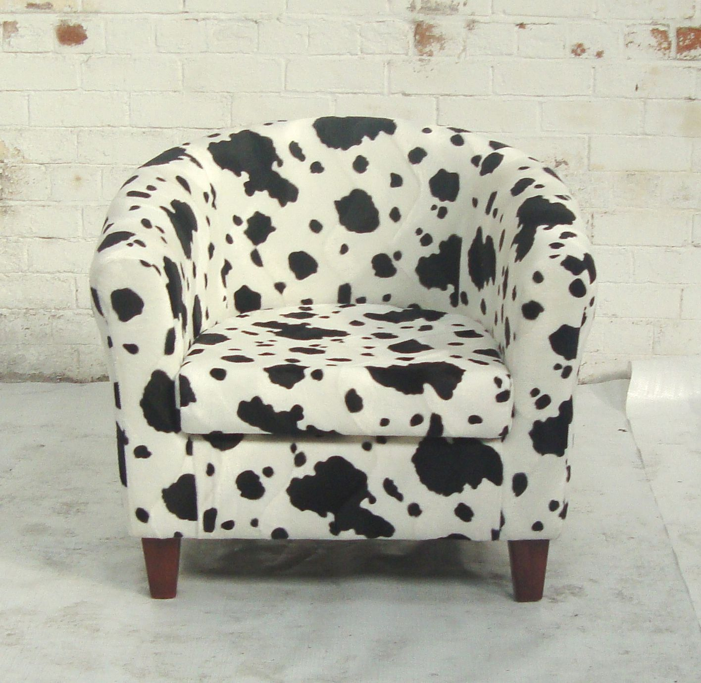 Cow Print Chair Cow Prints For Sale Cow Print Tub Chair Product Detail