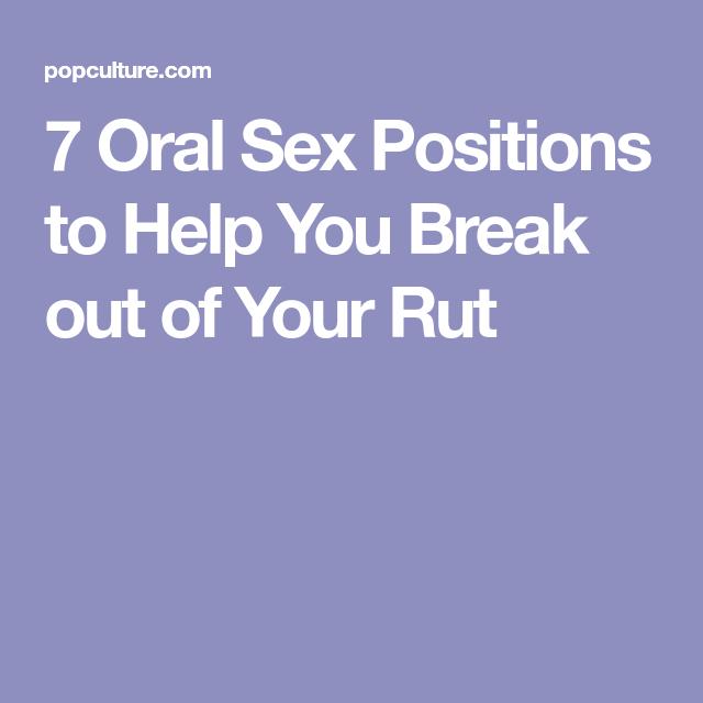 Help Oral Sex