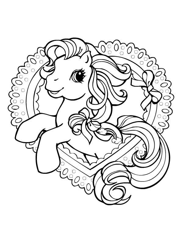 My little pony mon petit poney coloriages pinterest - Coloriage en ligne my little pony ...