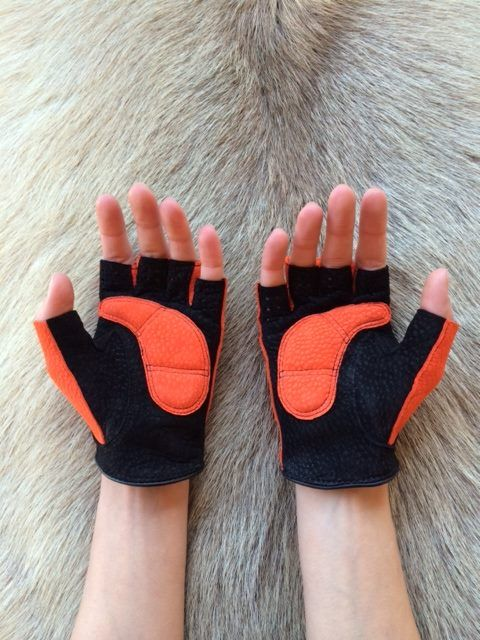 Fitness Lederhandschuhe Fingerlose handschuhe Fitness Leather Gloves  Bicycle gloves