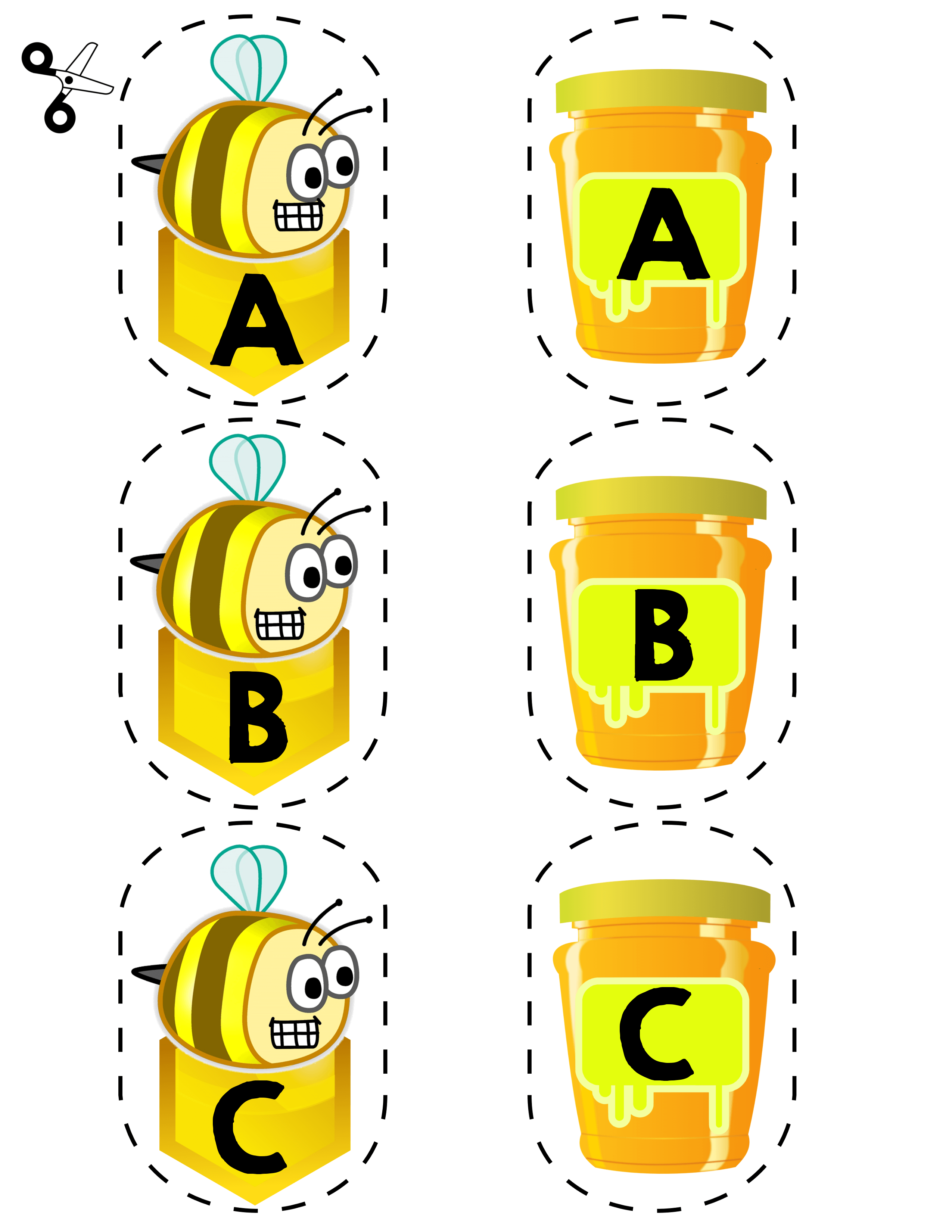 Bee Letter Matching