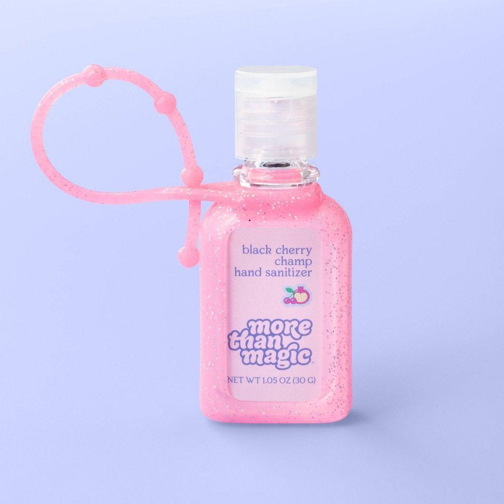 Hand Sanitizer Carrier 1 05oz More Than Magic Black Cherry