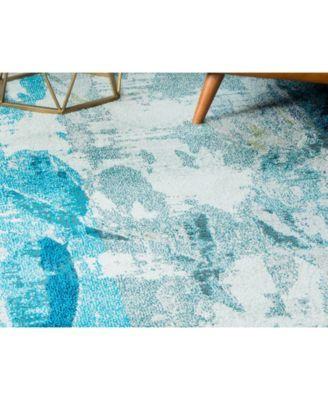 Bridgeport Home Ikbal Ikb6 Light Blue 8 X 10 Area Rug Reviews