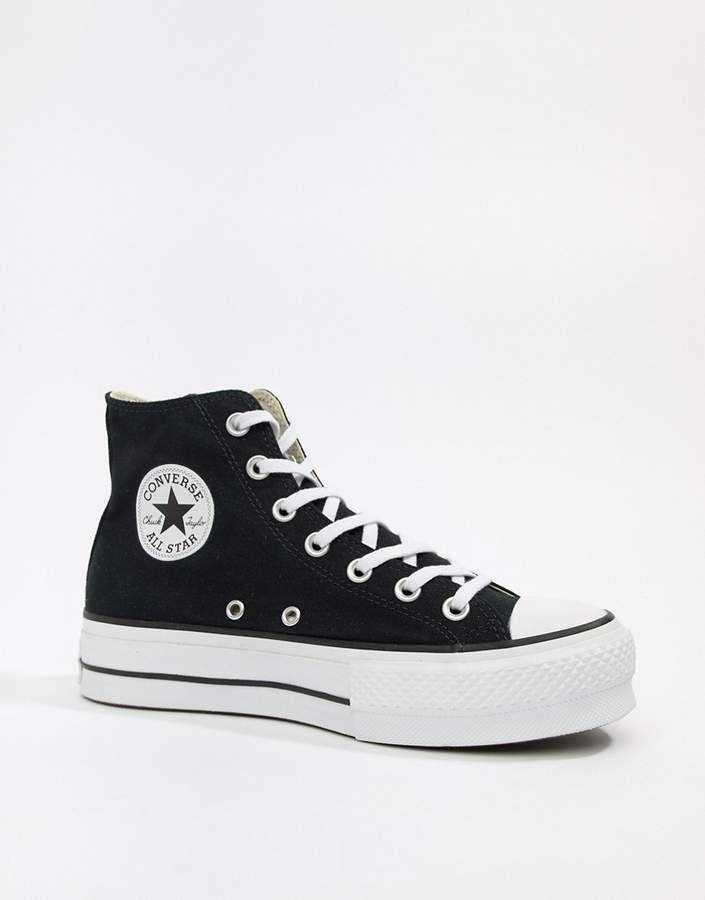 zapatillas casual de mujer chuck taylor all star platform hi converse