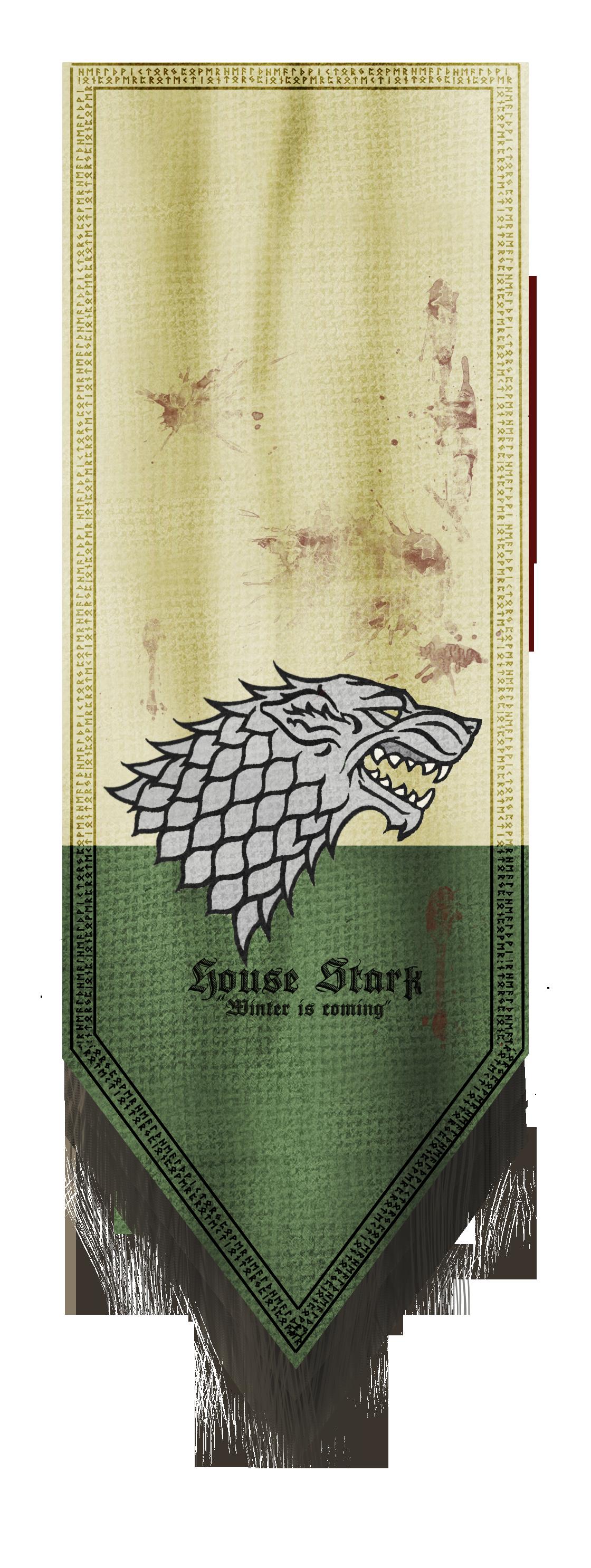 House Stark Banner House Stark Banner House Stark Banner