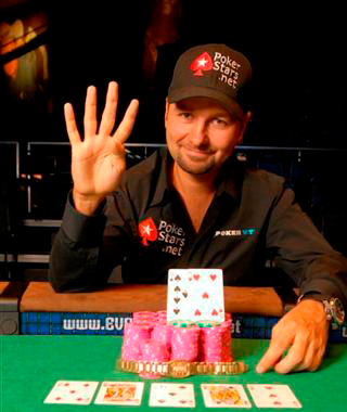 One of my favourite poker players Daniel Negreanu (With