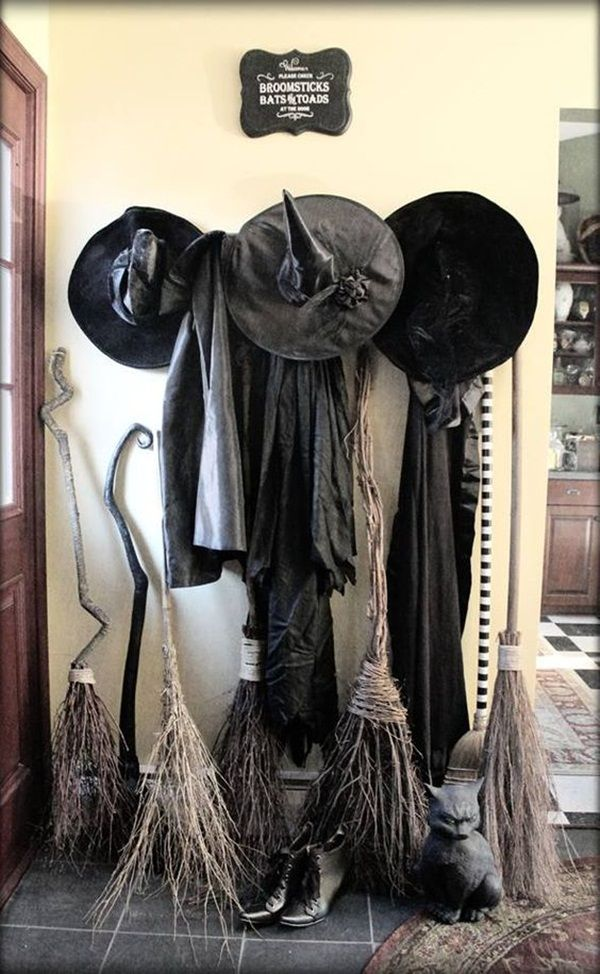 45 Scary Halloween Decoration Your Home Needs to Nail The Festival - halloween decorations for the office