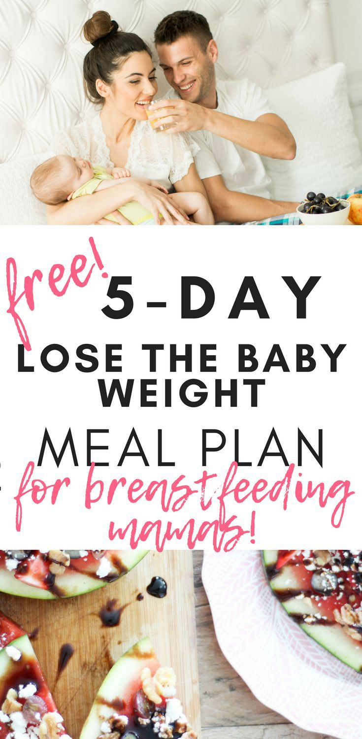 The Ultimate Free Nutrition Plan To Slim Down Fast & Lose The Baby Weight