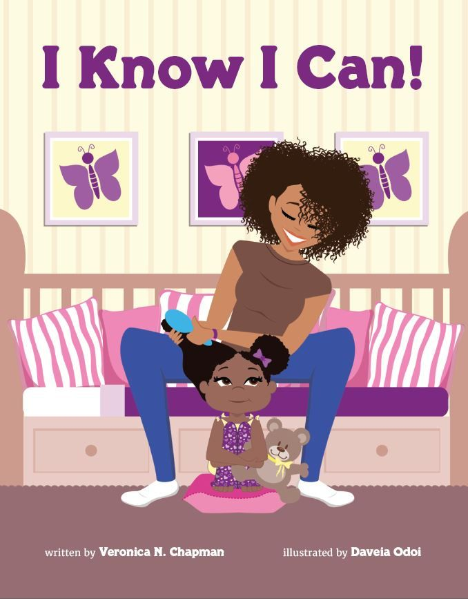 """In the new hit children's book """"I Know I Can!"""", Faith is a little girl who dreams big and takes action! Empower your kids with this awesome book!"""
