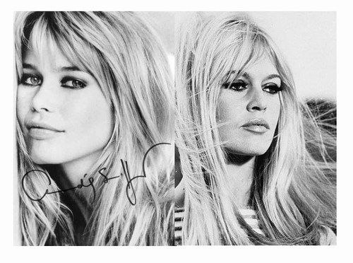 Brigitte Bardot And Claudia Schiffer Google Search Beauty Brigitte Bardot Pretty People