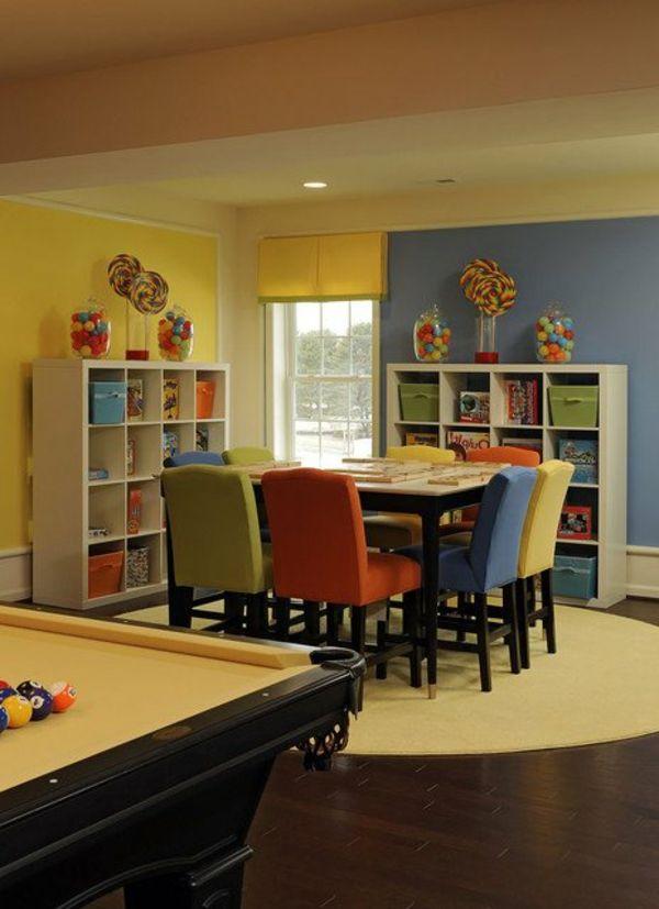 25 bezaubernde Kinderbereiche zum Lernen | Pinterest | Bunte stühle ...