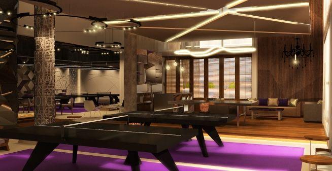 Dubai Ping Pong Social Club Brings Luxury To The Game