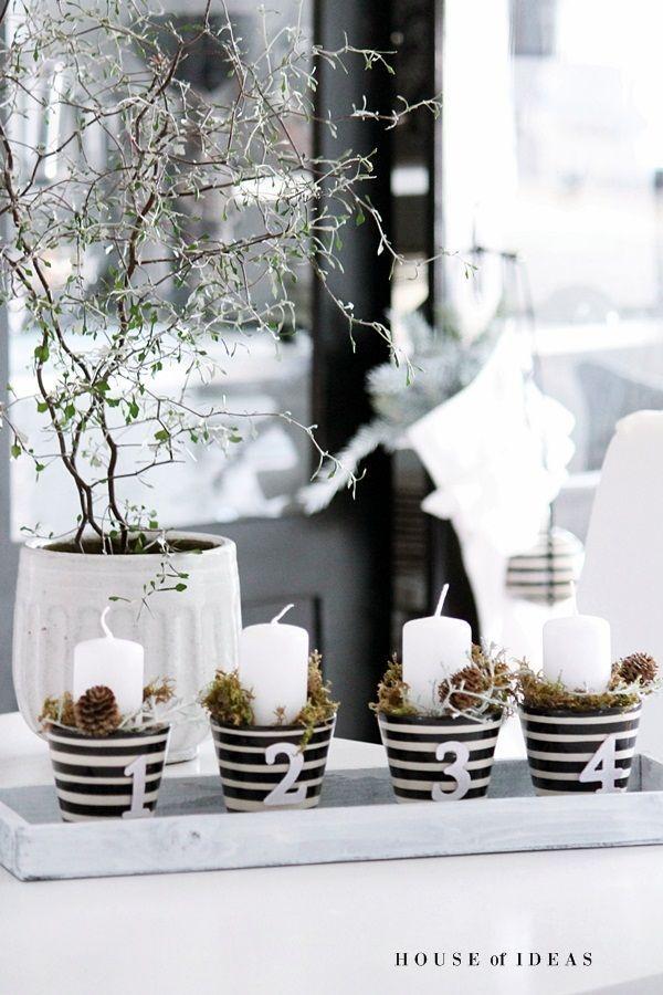 adventskranz mal anders weihnachten weihnachtsdekoration. Black Bedroom Furniture Sets. Home Design Ideas