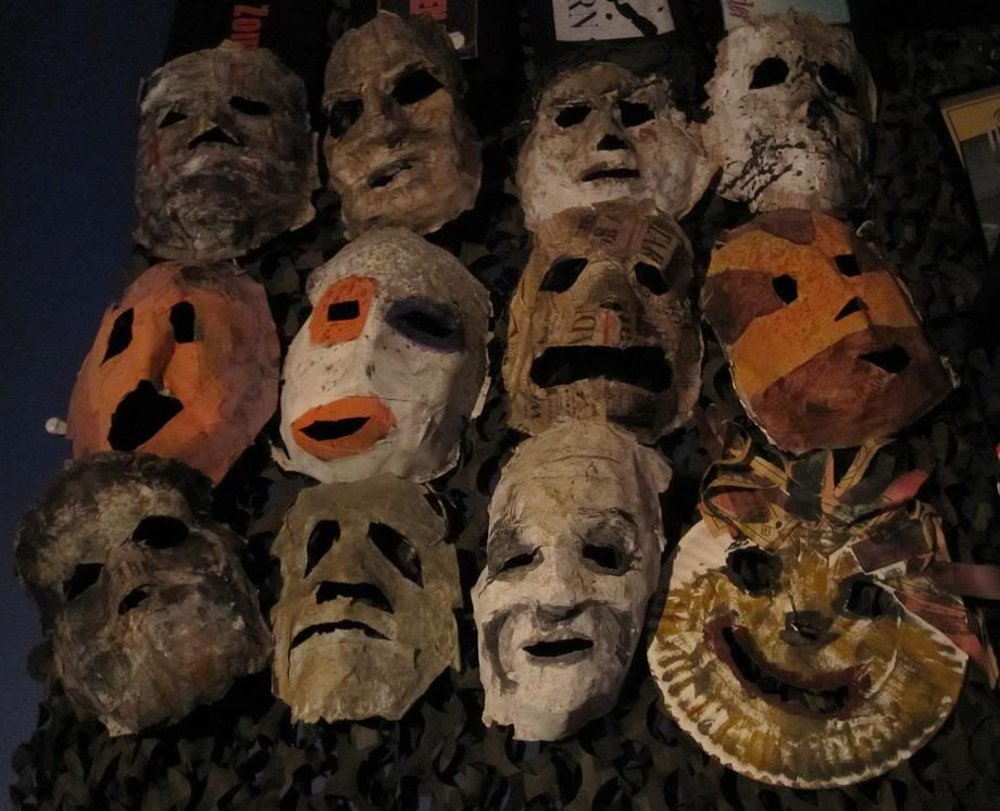 Michael myers paper mache masks dragonfly pinterest paper mache mask michael myers and horror - Masque halloween film ...