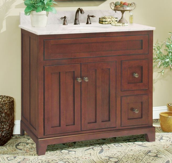 The Grand Haven Bath Vanity From Sunny Wood Find Out More At Www Sunnywood Biz Bath Cabinets Vanity Cabinet