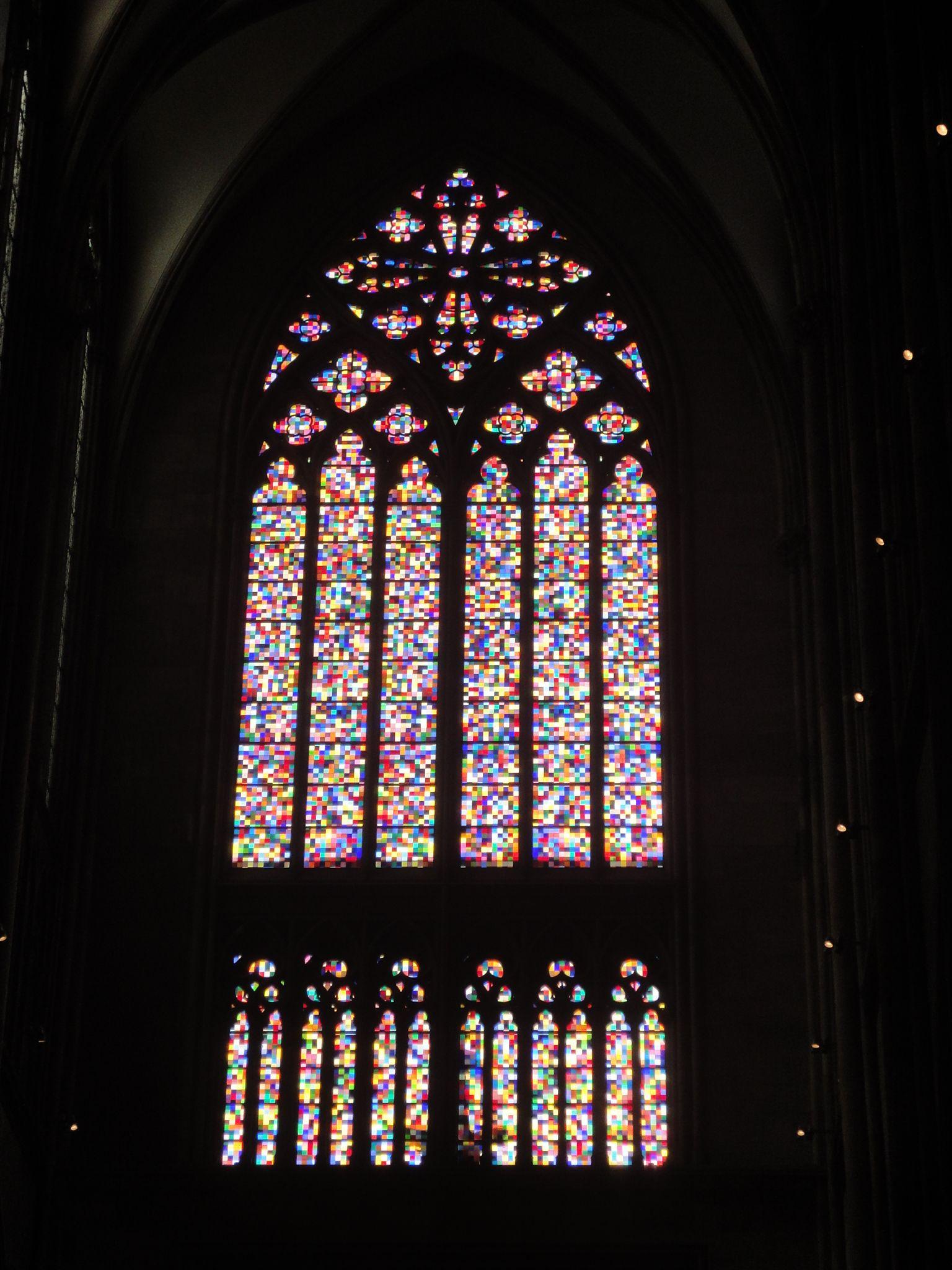 Fenster von Gerhard Richter im Kölner Dom http://www.ausflugsziele ...