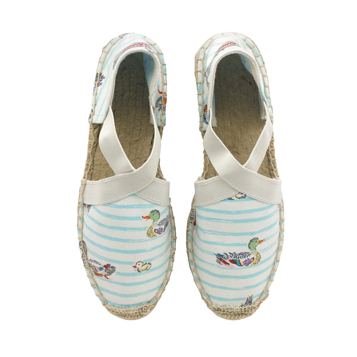 Ducks In A Row Elasticated Espadrilles | Bestsellers | CathKidston