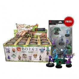 Dota 2 Microplushies(1 dozen) + Dota 2 Heroclix (without in-game item dagger) (Free Shipping)