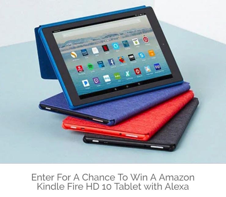 Amazon Kindle Fire 10 Giveaway Mom And More Tablet Fire Hd 10 Free Gift Cards