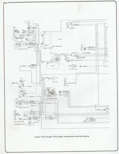 Wiring Diagram 1973 - 1976 Chevy Pickup #Chevy #Wiring #Diagram | 1973 chevy  truck, 1976 chevy truck, Chevy pickupsPinterest