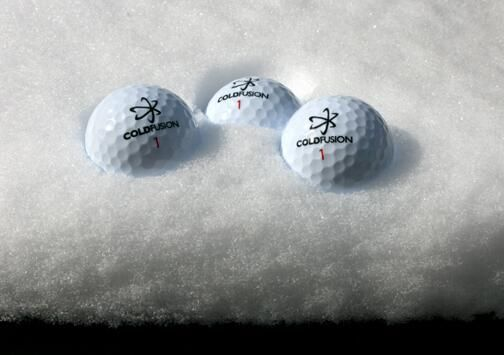 For optimal performance, make sure to chill your ColdFusion balls before your round.