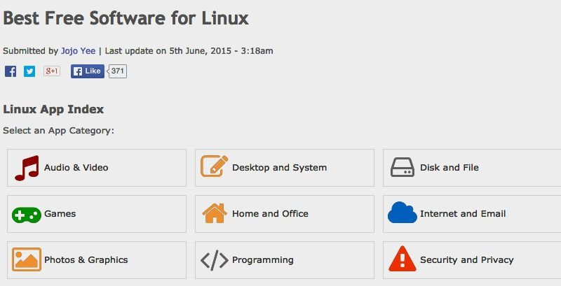Best Free Software for Linux | Gizmo's Freeware
