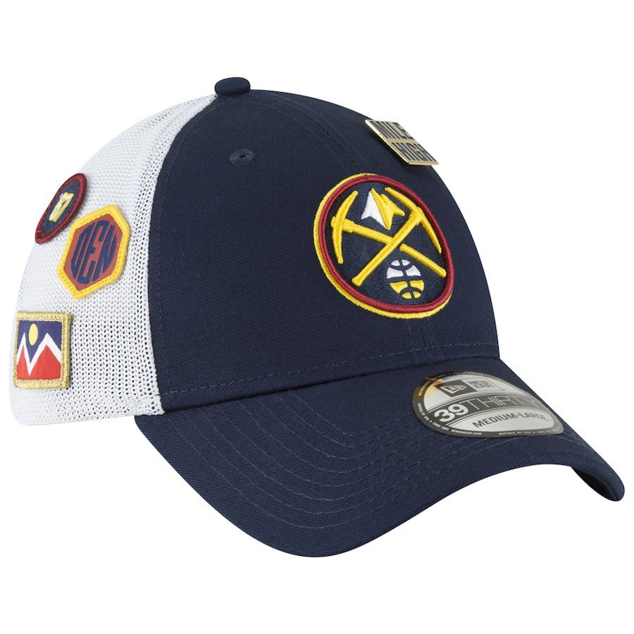 c037cdcdfeec7d Men's Denver Nuggets New Era 2018 Navy Draft 39THIRTY Fitted Hat, Your  Price: $31.99