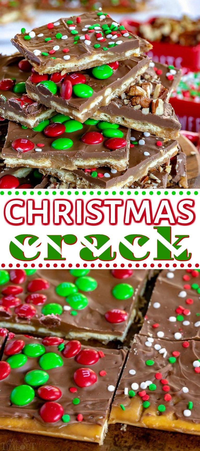 Christmas Crack - An Easy Saltine Toffee Recipe!