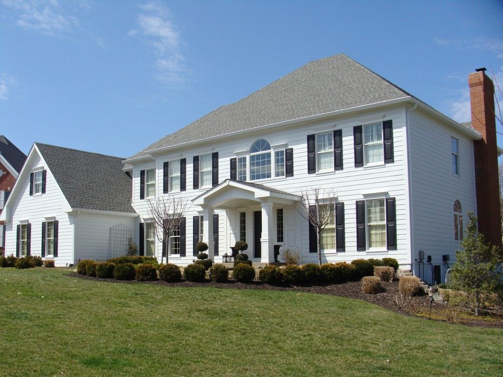 St Louis Siding Hardie Board Cement Board Fiber Cement James Hardie Stl Siding Pros Part 2 In 2020 Black House Exterior House Exterior House Colors