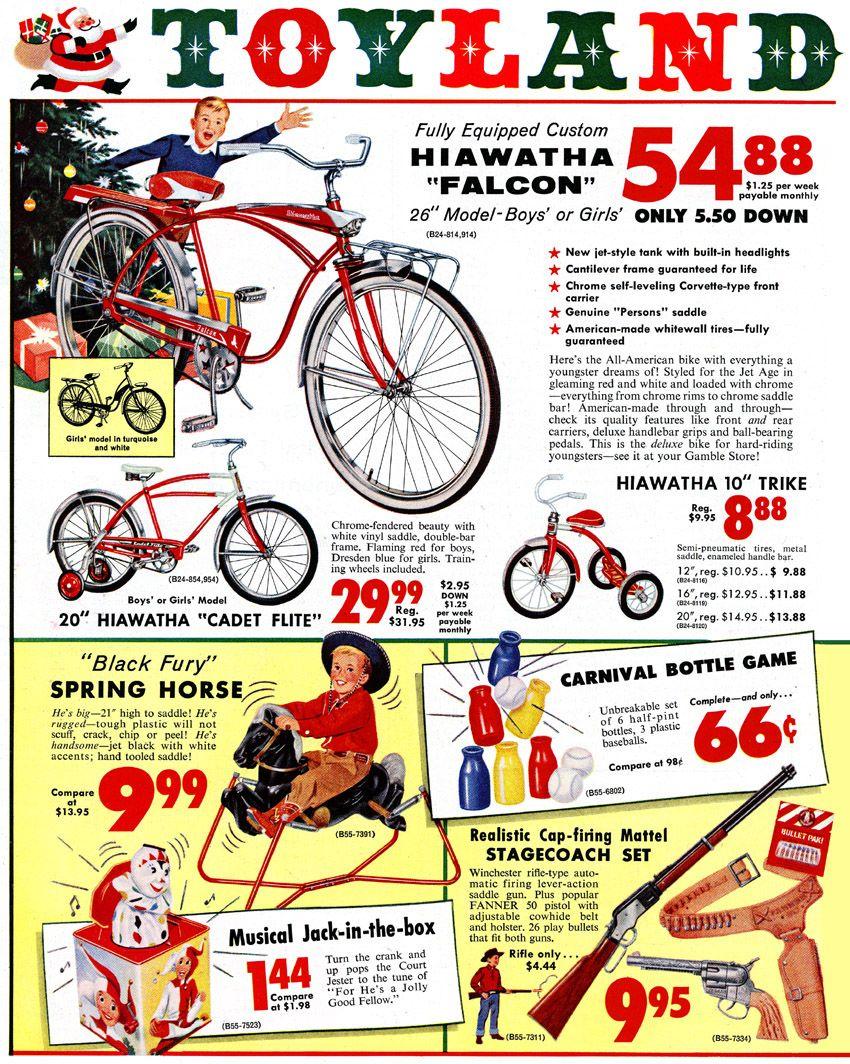 plan59 :: retro vintage 1950s christmas ads and holiday art