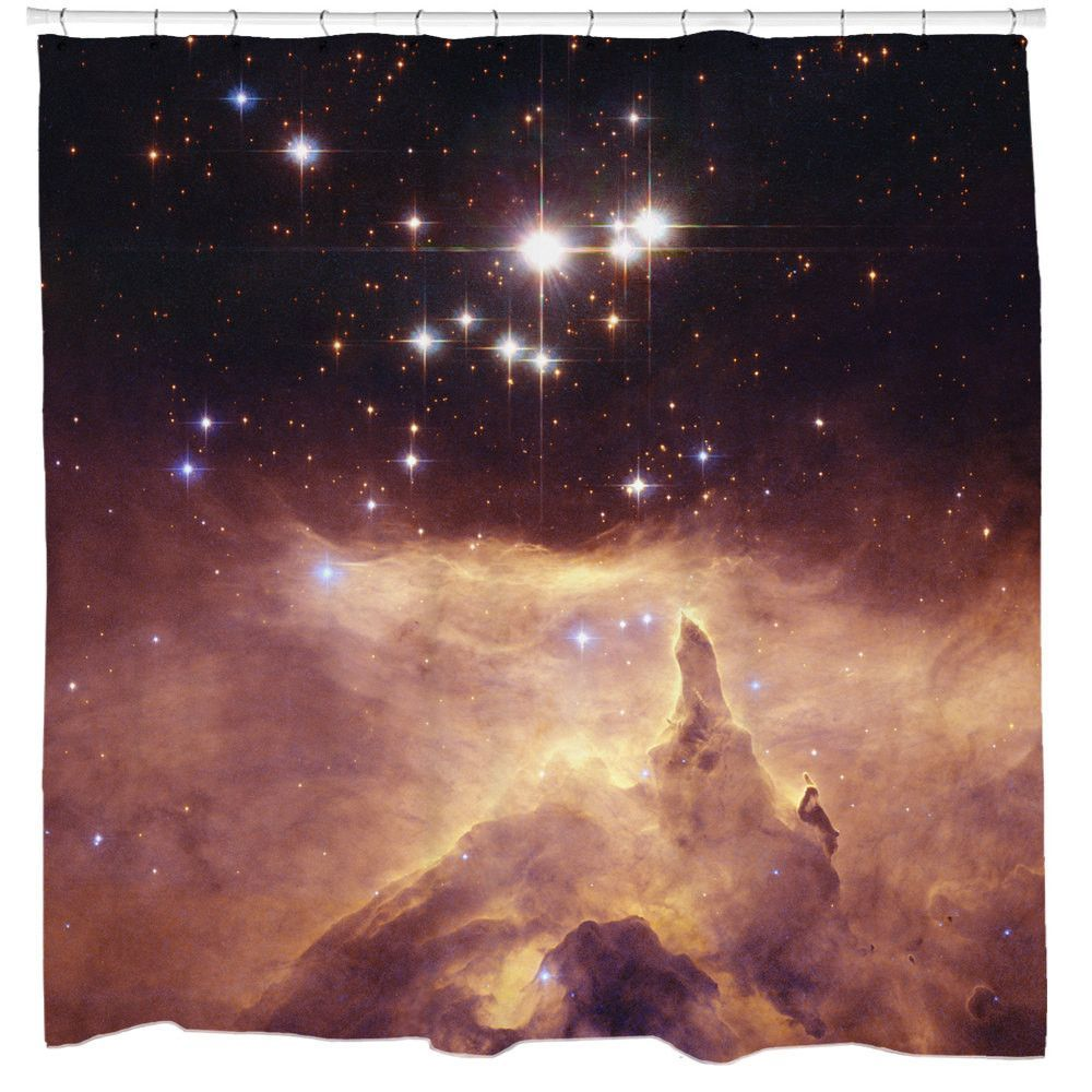 Emission Nebula Shower Curtain Spaces And Space Photos