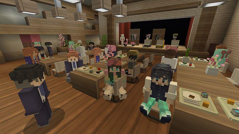 Anime academy in minecraft marketplace minecraft en 2020